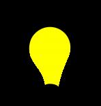 Optimierung von Prozessketten / Ideenlampe
