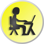 arbeitende Person